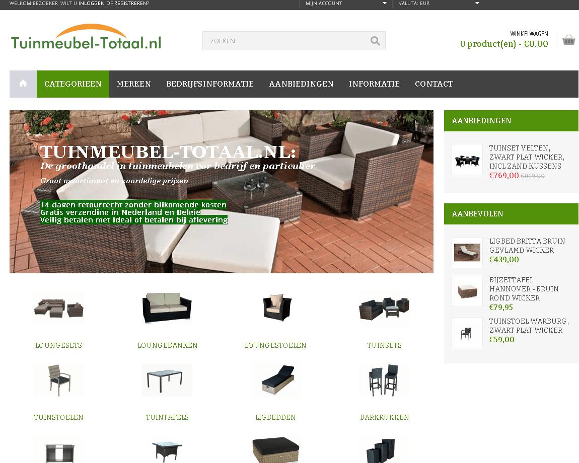Tuinmeubel-totaal.nl